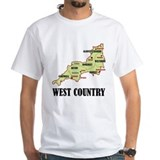 West Country Map Shirt