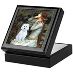 Ophelia (#1) - Maltese (B) Keepsake Box