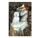 Ophelia (#1) - Maltese (B) Postcards (Package of 8