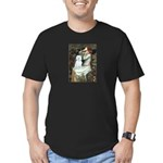 Ophelia (#1) - Maltese (B) Men's Fitted T-Shirt (d