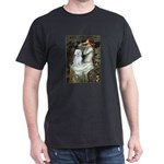 Ophelia (#1) - Maltese (B) Dark T-Shirt