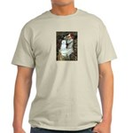 Ophelia (#1) - Maltese (B) Light T-Shirt