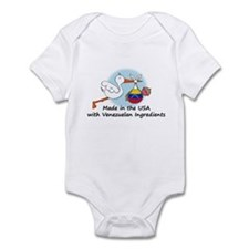 Stork Baby Venezuela USA Infant Bodysuit