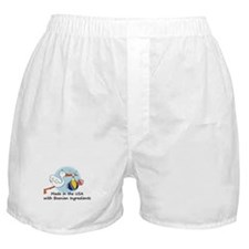 Stork Baby Bosnia USA Boxer Shorts