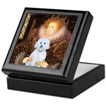 Queen / Maltese (B) Keepsake Box