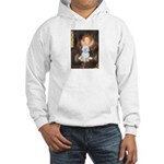 Queen / Maltese (B) Hooded Sweatshirt