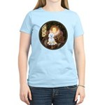 Queen / Maltese (B) Women's Light T-Shirt