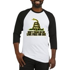 Live Free Or Die Baseball Jersey