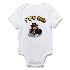 Cute Obama lied Infant Bodysuit