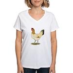 Penedesenca Hen Women's V-Neck T-Shirt