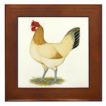Penedesenca Hen Framed Tile