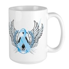 Awareness Tribal Light Blue Mug