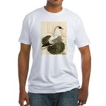 Swallow Pigeon Fitted T-Shirt