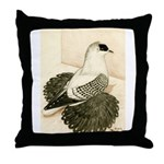 Swallow Pigeon Throw Pillow
