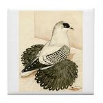 Swallow Pigeon Tile Coaster