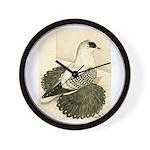 Swallow Pigeon Wall Clock