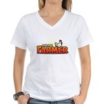 Online Farmer Women's V-Neck T-Shirt