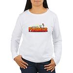 Online Farmer Women's Long Sleeve T-Shirt