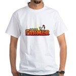 Online Farmer White T-Shirt