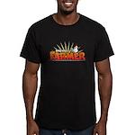 Online Farmer Men's Fitted T-Shirt (dark)