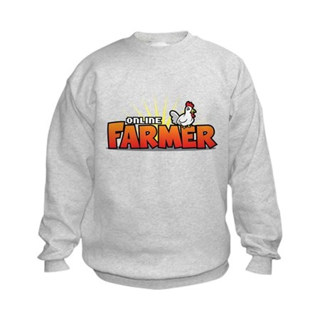Online Farmer Kids Sweatshirt