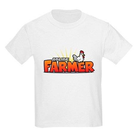 Online Farmer Kids Light T-Shirt
