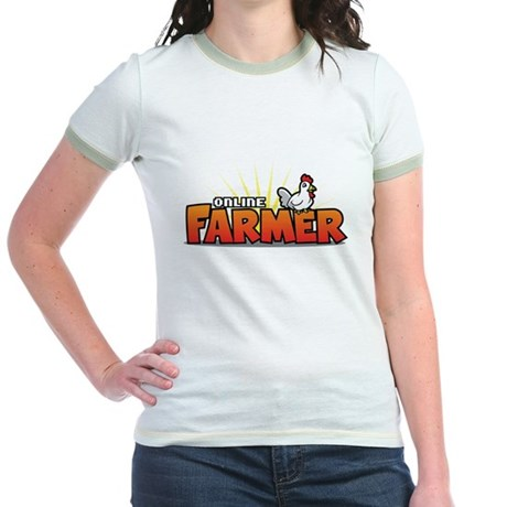Online Farmer Jr. Ringer T-Shirt
