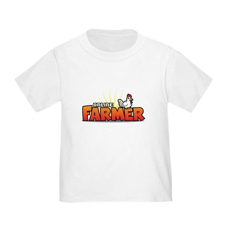 Online Farmer Toddler T-Shirt