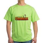 Online Farmer Green T-Shirt