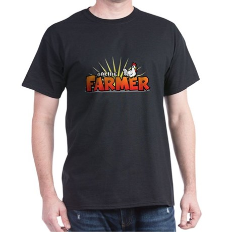 Online Farmer Dark T-Shirt