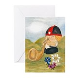 Alphorn Sepp Greeting Cards (Pk of 10)