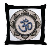 OM Symbol Throw Pillow