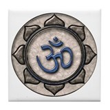 OM Symbol Tile Coaster