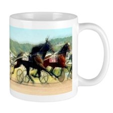 Harness horse racing trotter present gift idea Mug