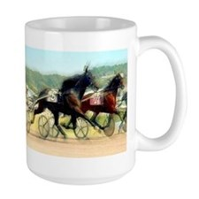 Harness horse racing trotter present gift idea Lar