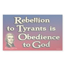 Rebellion to Tyrants Decal
