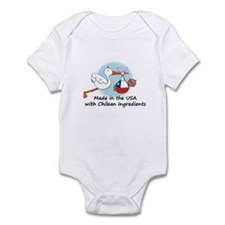 Stork Baby Chile USA Infant Bodysuit