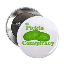 Pickle Conspiracy Button