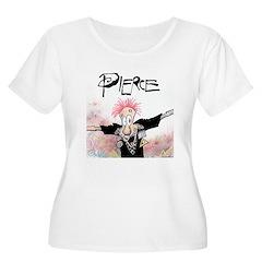 Pierce! Women's Plus Size Scoop Neck T-Shirt