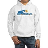 Fire Island - Waves Design Jumper Hoody