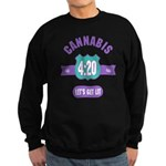 Cannabis 420 Sweatshirt (dark)