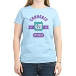 Cannabis 420 Women's Light T-Shirt