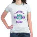 Cannabis 420 Jr. Ringer T-Shirt