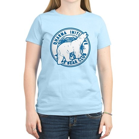 Polar Bear Club LOST Blue Womens Light T-Shirt