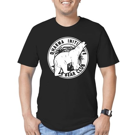 Polar Bear Club LOST Mens Fitted Dark T-Shirt