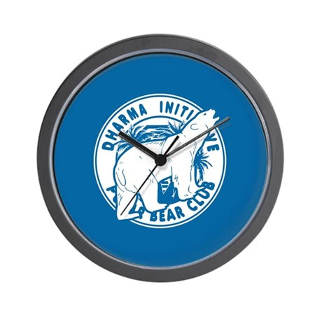 Polar Bear Club LOST Wall Clock