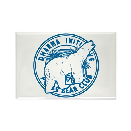 Polar Bear Club LOST Rectangle Magnet