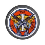 75th Air Police Wall Clock