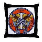 75th Air Police Throw Pillow