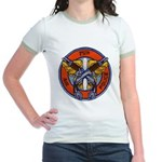 75th Air Police Jr. Ringer T-Shirt